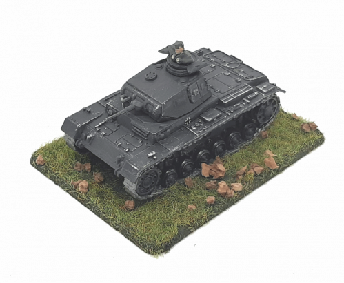 Photo of PzKpfw III Ausf A (Panzer III)