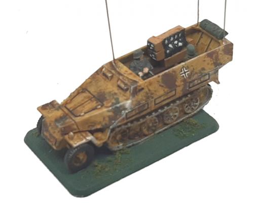 Photo of SdKfz 251/ 3 Ausf A,B,C Wireless Vehicle (Hanomag)