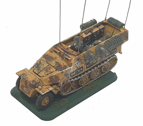 Photo of SdKfz 251/ 6 Ausf A,B,C Command Vehicle (Hanomag)