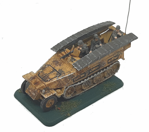 Photo of SdKfz 251/ 7 Ausf A,B,C Engineering Vehicle (equipment carrier) (Hanomag)