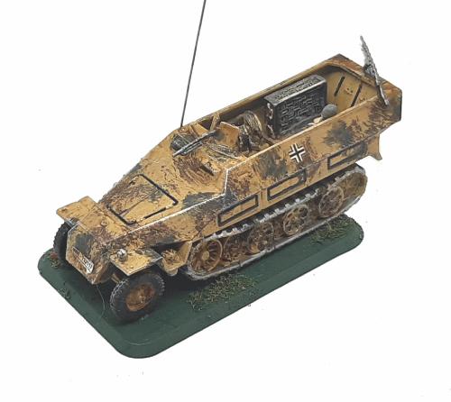 Photo of SdKfz 251/19 Ausf D Telephone Exchange Vehicle (Hanomag)