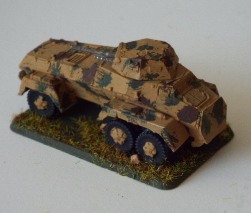 Photo of SdKfz 232 Schwere Panzerspähwagen (6 rad - Daimler Benz/Bussing NAG)