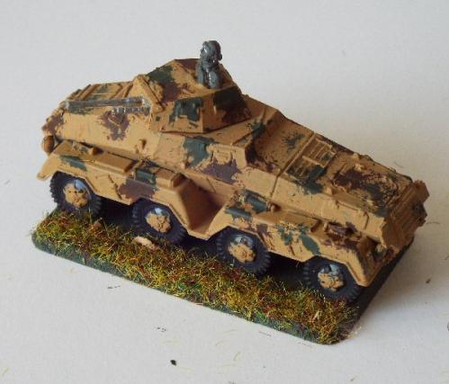 Photo of SdKfz 231 Schwere Panzerspähwagen (8 rad)