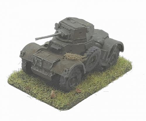 Photo of Daimler Armoured Car MkI, II