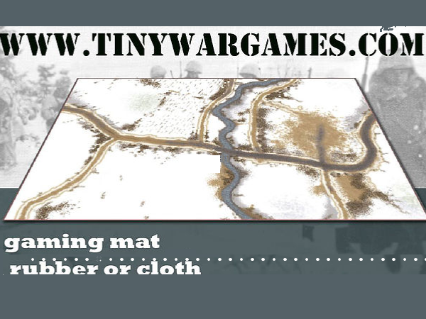 Tiny Wargames play mat producer 01322 618704